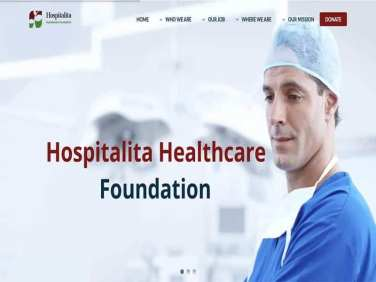 Hospitalita Healthcare Foundation Website
