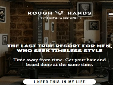 Rough Hands Barbershop Supply Demo